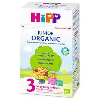 Органічне дитяче сухе молочко HIPP Organic Junior 3, 500мл