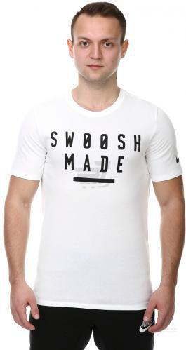 Футболка Nike Dry Swoosh Made 834329-100 XL білий