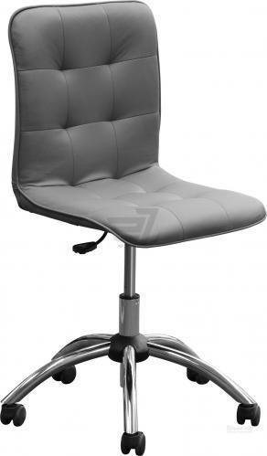 Крісло Nowy Styl Bit Gts Chrome (CH) Eco-70 сірий