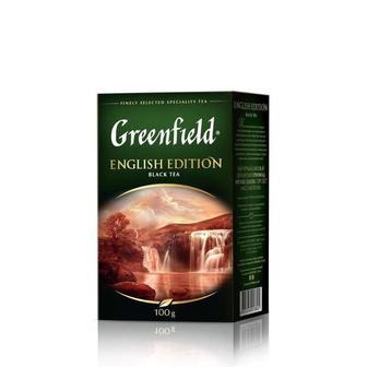 Чай English Edition Greenfield 100 г