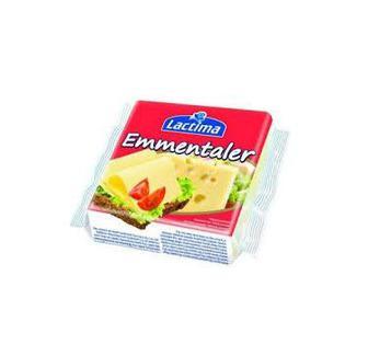 Сир плавлений тостовий Емменталлер або Вершковий 36,2% Lactima 130 г