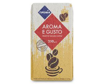 Кава мелена «Премія»® Aroma e gusto натуральна, 250г