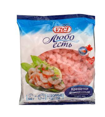 Креветки VICI 90/120, 0,5 кг