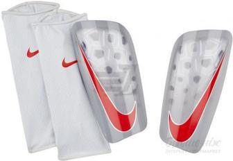 Щитки футбольні Nike NK MERC LT GRD р. XS сірий
