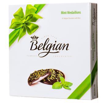 Конфеты шоколадные с ментоловой начинкой Belgian Medallions