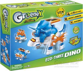 Науково-ігровий набір Amazing Toys Eco-Three Dino 36523A