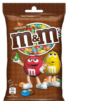 Драже M&M's з шоколадом, 90 г