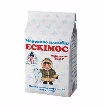 Морозиво Ескімос Рудь 750г