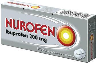 Нурофен 200 мг таблетки №6