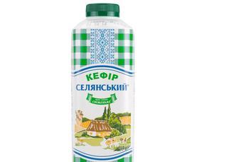 Кефір 1%, Селянський, 950г