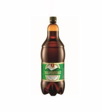Скидка 25% ▷ Пиво світле  Закарпатське Перша приватна броварня 2 л