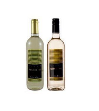 Вино Alma De Vid Airen біе сухе/ Garnacha рожеве суха/ Tempranillo червоне сухе 0,75л
