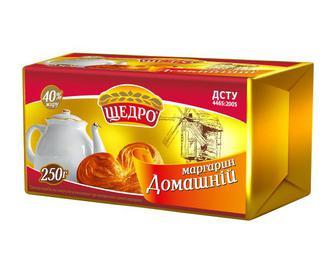 Маргарин Домашній Щедро 250 г