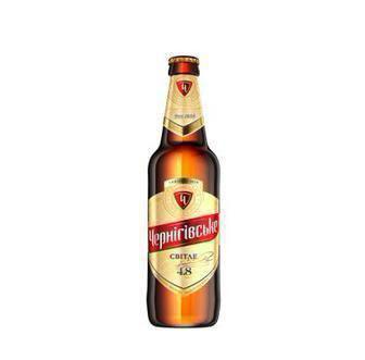 Пиво світле/міцне Чернігівське 0.5л