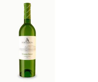 Вино біле, нап/сол, Монте Блан, Коктебель, 0,75 л