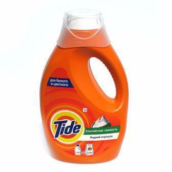Жидкое средство для стирки Tide 1,235 л