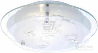 Світильник настінно-стельовий Globo BRENDA 40409 1x60 Вт E27 білий