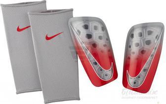 Щитки футбольні Nike NK MERC LT GRD р. L сірий