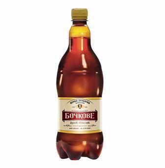 Пиво Бочкове ППБ 0,9л
