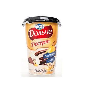 Десерт з шоколадом 3,4% Дольче 400г