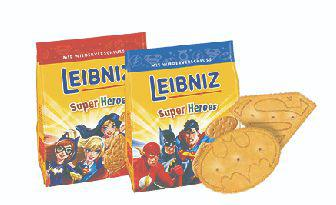 Печиво Лейбнiц супергерої для дiвчаток , для хлопчикiв, Бальзен, 100 г