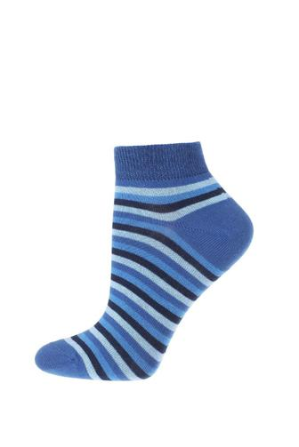 Шкарпетки жін Дюна 3В329 р.21-23 блак/нас.блак