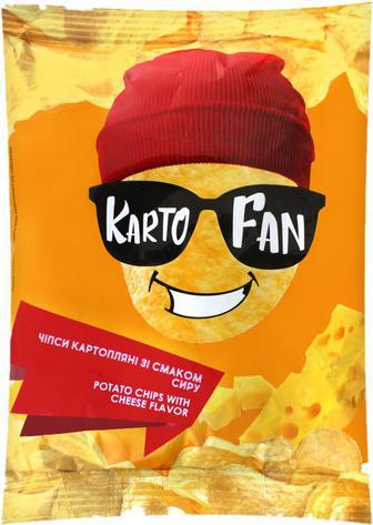 Чіпси Kartofan Сир картопляні 70г