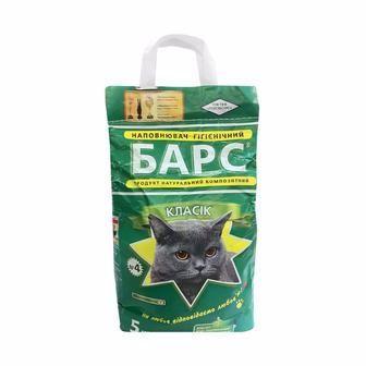 Наповнювачі гігєнічні для тварин Барс 5кг
