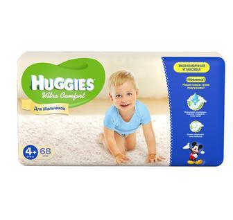 Под. Huggies Ультра Комфорт 56-80 ед.