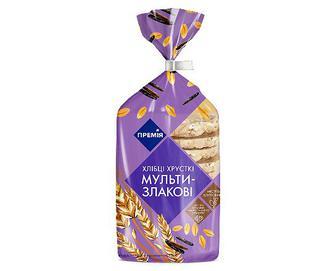 Хлібці хрусткі мультизлакові «Премія»® 100г