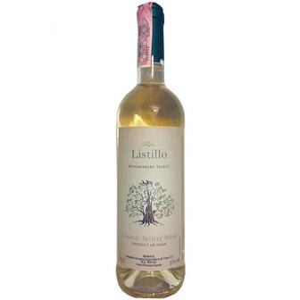 Скидка 35% ▷ Вино Совіньйон Блан біле сухе. Темпранільйо червоне сухе Listillo 0,75л