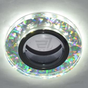 Світильник точковий Blitz з LED-підсвіткою MR16 35 Вт GU5.3 6000 К хром BL 212S3 CH+WH