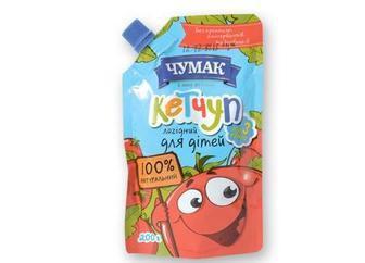 Кетчуп лагідний для дітей, Чумак, 200г