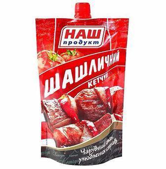 Кетчуп Лагідний Наш Продукт 250г