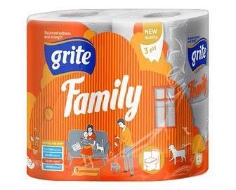 Папір туалетний Grite Family, 4шт/уп