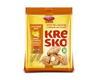 Печиво АВК Kresko банановий смак, 74г