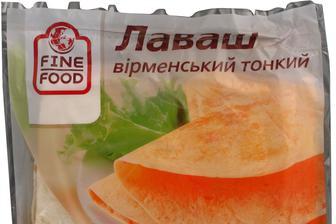 Лаваш Вірменський, Тонкий,, F.FOOD, 330Г