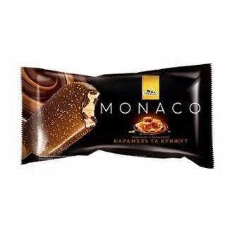 Морозиво Monaco Карам-кунжут, Monako Трюфель-апельсин, Три Ведмеді, 80г