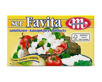 Сир Mlekovita Favita 12% жиру, 270г