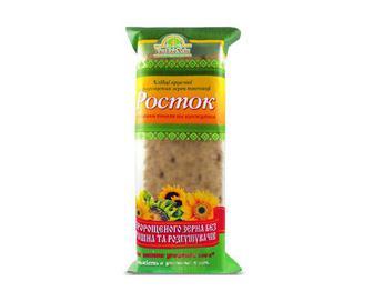 Хлібці хрусткі «УкрЕкоХліб» «Росток» з пророщених зерен пшениці з насінням соняха та кунжутом, 120г