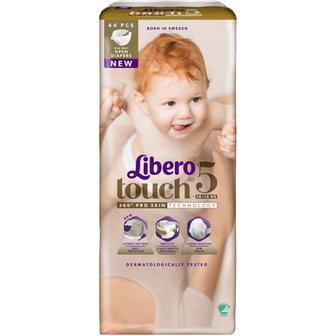 Підгузники Libero Touch №5 10-14кг 44шт