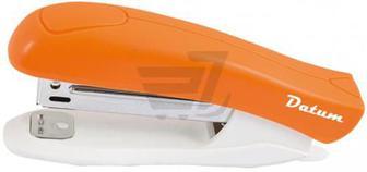 Степлер №10 12арк пласт.D2022-11 помаранчевий Datum