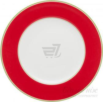 Тарілка обідня Emotion 20,5 см червона Auratic