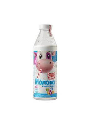Молоко Злагода Малятко 3,2% 205г