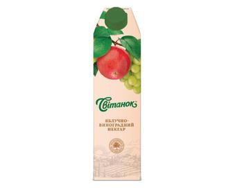 Нектар «Світанок» яблучно-виноградний, 0,95л