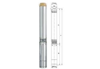 Насос Скважинный Aquatica 0.25 кВт H 42 м Q 55 л/мин 96 мм (777442)