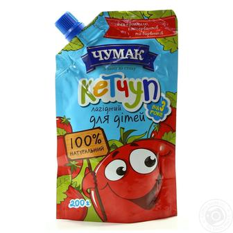 Кетчуп Лагідний для дітей Чумак 200 г