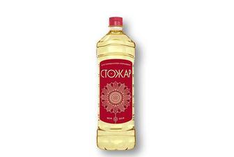Скидка 15% ▷ Олія сoняшникoва рафінoвана Стожар 0,87 л