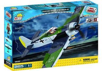 Класичний конструктор Cobi Друга Світова Війна Літак Фокке-Вульф FW-190A-8 (Cobi-5535)