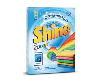 Порошок пральний Shine Color, 400г